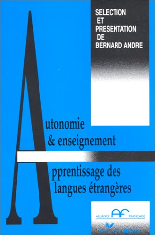 9782278038541: Autonomie et enseignement-apprentissage des langues étrangères