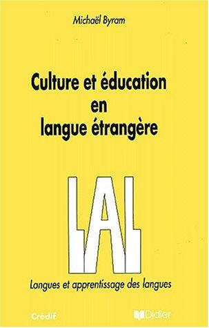 9782278042265: Culture et �ducation en langue �trang�re