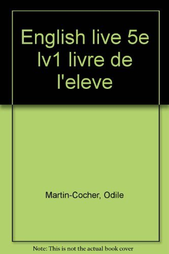 9782278042371: English live, 5e L.V.1. Manuel