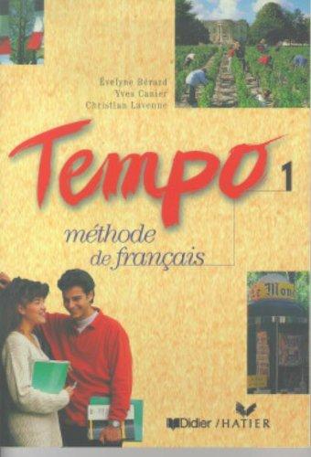 9782278044238: Tempo, 1 : Méthode de français (Livre de l'élève)