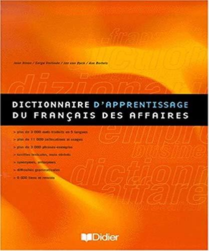 9782278046324: dictionnaire d'apprentissage du francais des affaires