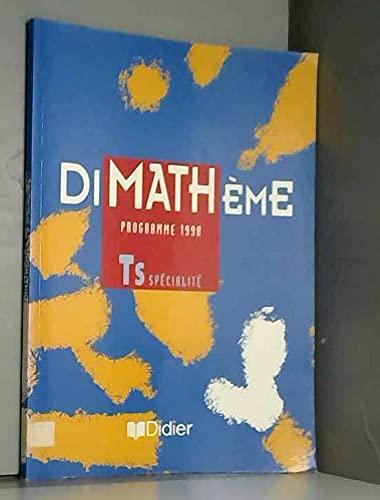 9782278046782: MATHEMATIQUES TERMINALE S. Programme 1998