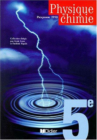 9782278046966: Physique chimie 5ème (livre de l'élève)