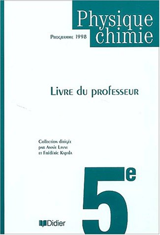 9782278046973: Physique-chimie 5e guide pedagogique (French Edition)