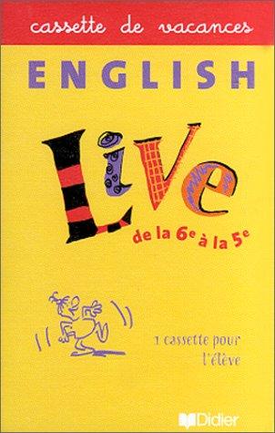 9782278047147: Cahier de vacances, English Live, 6e et 5e