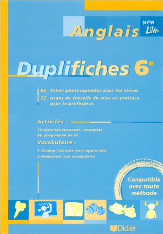 9782278049066: New live Duplifiches 6e : Anglais