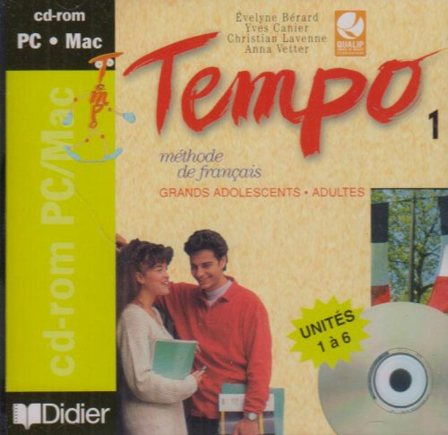 9782278049080: Tempo: CD-Rom 1 (French Edition)