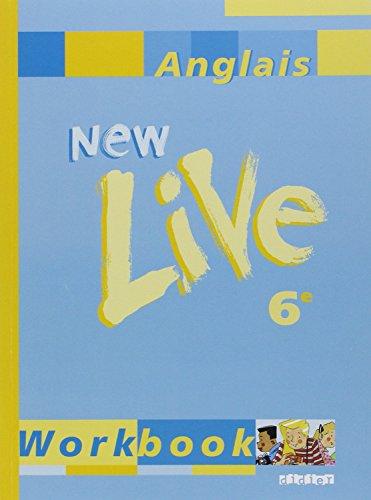 9782278049271: New live 6e (cahier)