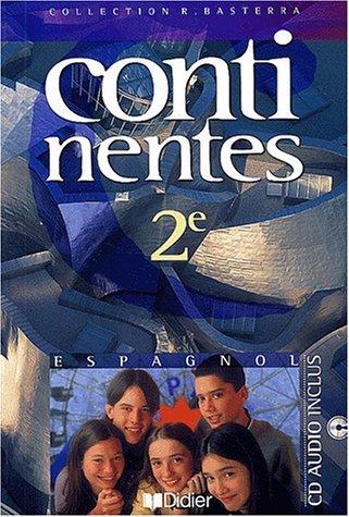 9782278049806: Continentes : Espagnol, 2nde (1 livre + 1 CD audio)