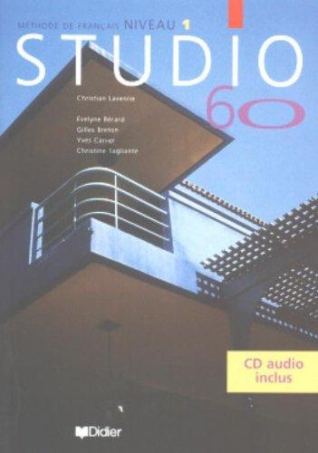 9782278049851: Studio 60, méthode de français, niveau 1, avec CD audio