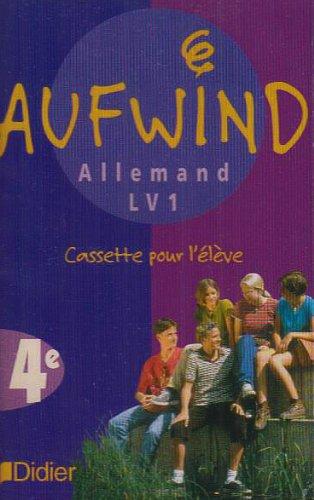 9782278050079: Aufwind : 4ème, LV1, pour l'élève (cassette audio)