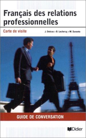 9782278050239: Français des relations professionnelles : Carte de visite