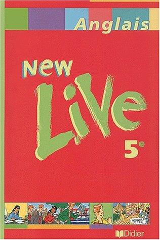 9782278050529: New live, cinquième 2001, manuel de l'élève