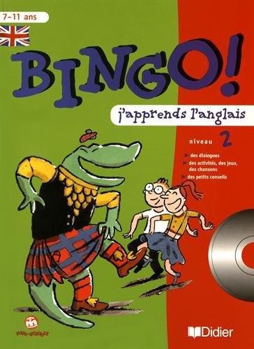 9782278050628: Bingo : j'apprends l'anglais - niveau 2. Cahier et CD audio