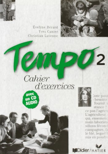 9782278050697: TEMPO 2 CAHIER + CD AUDIO (Fle)