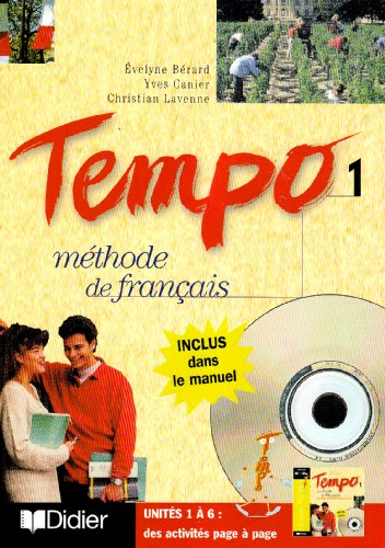 Tempo 1: Methode de francais avec CD-rom PC.MAC: Berard, Evelyne