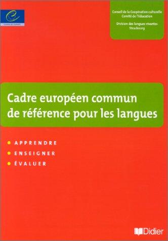 9782278050758: Un cadre européen commun de référence pour les langues : apprendre, enseigner, évaluer