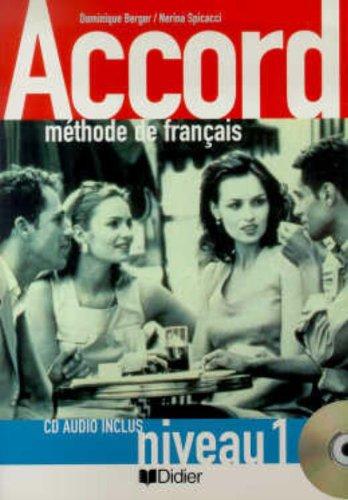 9782278051359: Accord 1. Méthode De Français. Livre De L'élève. 1º ESO (+ CD) (Fle)