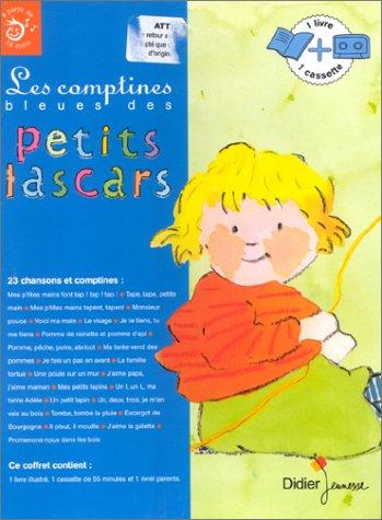 9782278051410: Les comptines bleues des petits lascars (1 livre + 1 cassette)