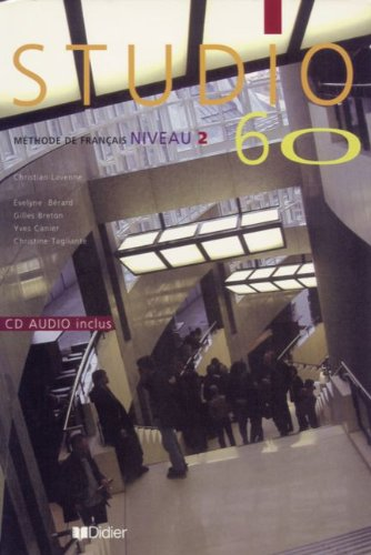 9782278051625: Studio 60: Livre de l'Eleve & CD-Audio 2 (French Edition)