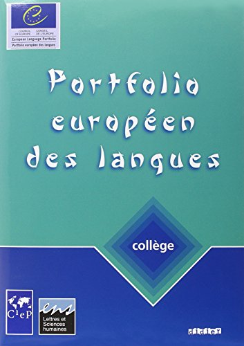 9782278051946: Portfolios Europeens DES Langues: College (French Edition)