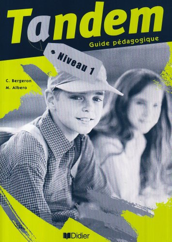 9782278052851: Tandem: Guide Pedagogique 1 (French Edition)