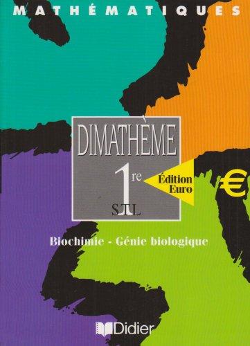 9782278053056: Dimath�me 1re STL euro (livre �l�ve)