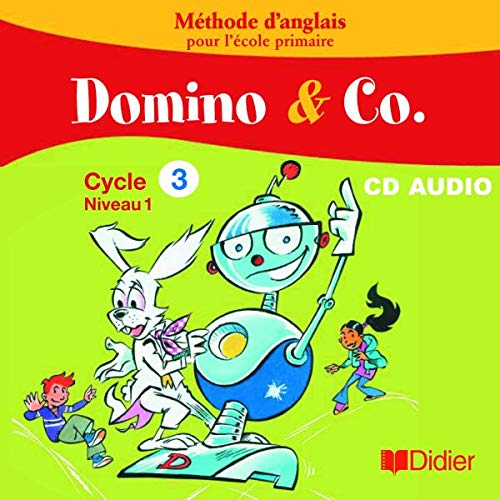 9782278055678: Domino and Co Cycle 3 Niveau 1 CD Classe (French Edition)
