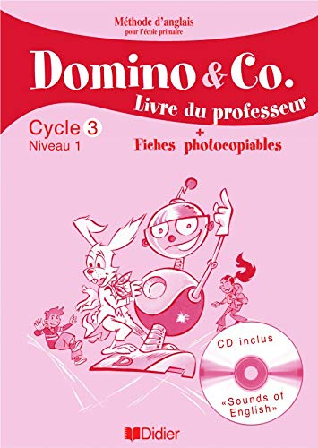 9782278055685: Domino and Co Cycle 3 Niveau 1 (French Edition)