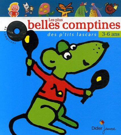 9782278056552: Les plus belles comptines des p'tits lascars (1CD audio)