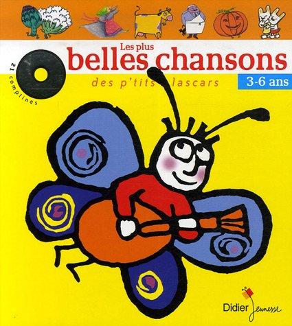 9782278056569: Les plus belles chansons des p'tits lascars (1CD audio)