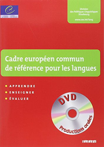 9782278058136: CADRE EUROPEEN COMMUN DE REFERENCE POUR LES LANGUES (CECRL) LIVRE + DVD
