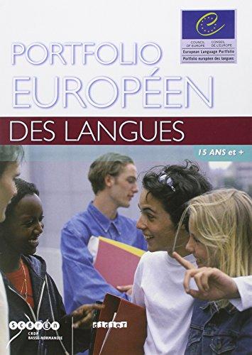 9782278060283: Portfolios Europeens DES Langues: 15 Ans ET Plus (French Edition)