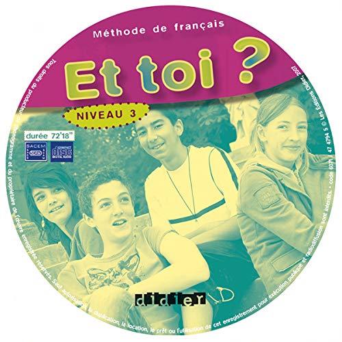 9782278060719: Et toi?: CD-classe (1) 3 (A2)