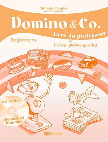 9782278061297: Dominos & Co Beginners : Guide Pédagogique + CD audio