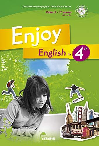 9782278062911: Enjoy English 4e Livre + CD audio-rom