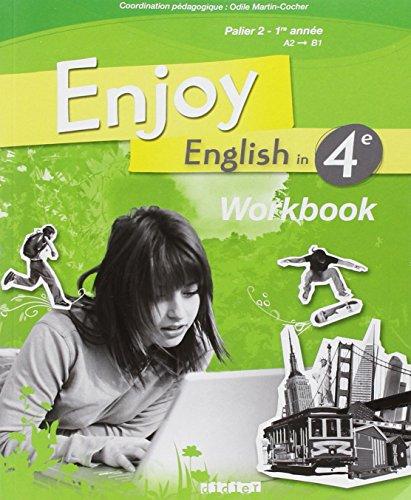 9782278062928: Enjoy English 4. Cahier D'Exercices