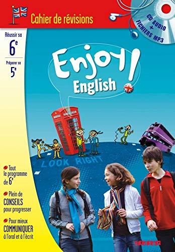 9782278063208: Enjoy English ! : Cahier de révision Anglais 6e à la 5e (1CD audio)