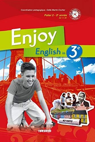 9782278063635: Enjoy English in 3e Palier 2 - 2e Année (1CD audio)