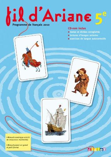 9782278065820: Fil d'Ariane 5e - Livre + CD -rom
