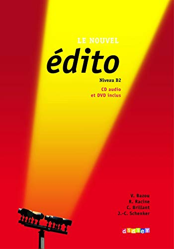 9782278066575: Nouvel Edito Niveau B2: Livre + CD + DVD (New Ed.) (French Edition)
