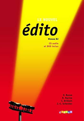 9782278066575: Nouvel Edito Niveau B2: Livre + CD + DVD (New Ed.) (French Edition)