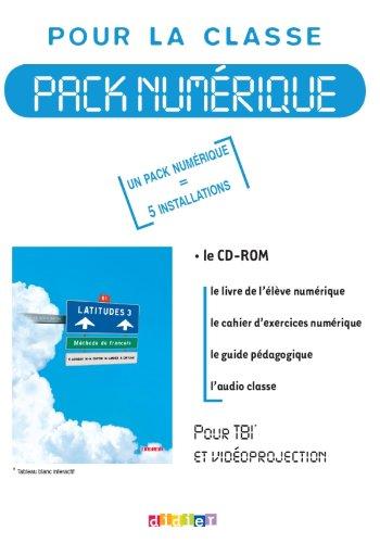 9782278067299: Latitudes niveau 3 - pack num�rique 5 licences - CD rom + DVD