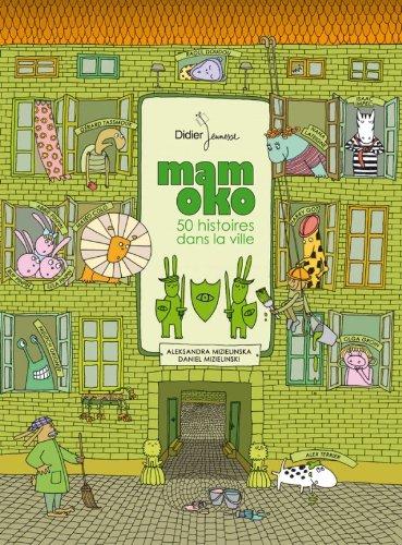 9782278067466: Mamoko - 50 histoires dans la ville (Format géant tout-carton)