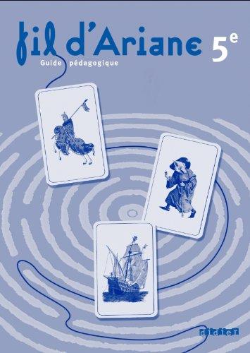 9782278068470: Fil d'ariane 5e - guide p�dagogique