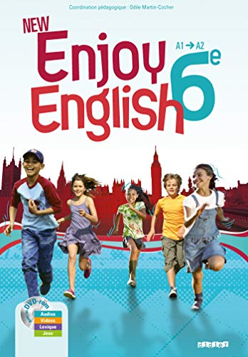 9782278068807: New Enjoy English 6e - Manuel + DVD-rom