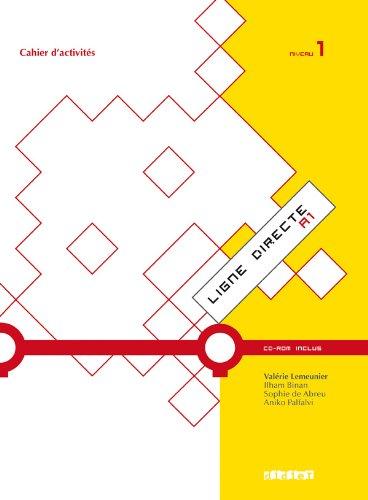 9782278069194: Ligne directe 1 niveau A1 cahier + cdrom (French Edition)