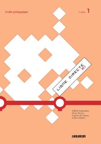 9782278069279: Ligne directe 1 niv.A1 - Guide pédagogique - version papier