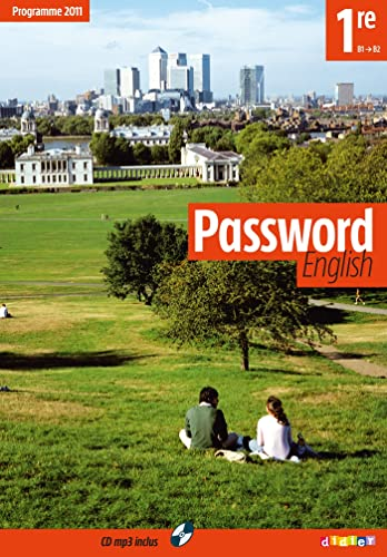 9782278069347: Password English 1re - Livre + CD mp3