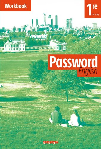 9782278069354: Password English 1re - Workbook (Cahier)